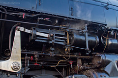 UP #4014 - Front Driver Detail (tim_1522) Tags: railroad railfanning rail ar arkansas vanburen wagoner sub subdivision unionpacific up steam special passenger bigboy articulated 4884 4014 thegreatraceacrossthesouthwest