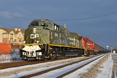Early Riser (Robby Gragg) Tags: cp dday military sd70acu 6644 northbrook