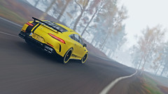 amg gt 63 12 (Keischa-Assili) Tags: 4k uhd 1080p full hd fullhd wallpaper screenshot photo auto car automotive automobile virtual digital game gaming graphic edited photography picture videogame forza horizon 4 yellow black amg gt 63 autumn fog