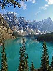 Scenic (Koku85 (Thanks for 1 million views)) Tags: morainelake nature canada banff landscape lake mountain water travel