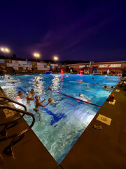 Evening Warmup (/\ltus) Tags: iphone waterpolo niwpc santabarbara pool california