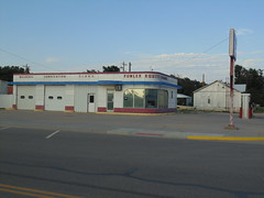 78. The old Fowler Equity Exchange auto shop, 7-27-19 (leverich1991) Tags: exploring kansas 2019 fowler meade swimming pool jail