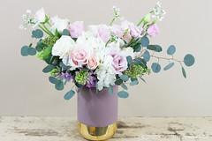 IMG_4632 (Garden Party Flowers) Tags: jan202020vancleeforder arrangement floral florist flowers pinkandpurple softpink vancouver