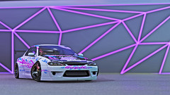 nissan silvia spec r 6 (Keischa-Assili) Tags: 4k uhd 1080p full hd fullhd wallpaper screenshot photo auto car automotive automobile virtual digital game gaming graphic edited photography picture videogame forza horizon 4 nissan silvia spec r white blue pink jdm tuner drift