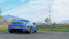 ferrari california t 11 (Keischa-Assili) Tags: 4k uhd 1080p full hd fullhd wallpaper screenshot photo auto car automotive automobile virtual digital game gaming graphic edited photography picture videogame forza horizon 4 blue ferrari california t italian sportscar