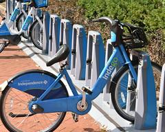 Indego Bike Station at Fairmount Ave (fotophotow) Tags: philadelphia