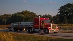 Peterbilt 389 (NoVa Truck & Transport Photos) Tags: peterbilt 389 area transportation flatbed chesterton in fitzgerald glider