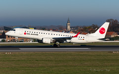 WDL_E190_DACJJ_BRU_25L_DEC2019 (Yannick VP) Tags: civil commercial passenger pax transport aircraft airplane aeroplane jet jetliner airliner wh wdl aviation embraer emb190 e190 e190100 lr e90 dacjj arrival landing touchdown runway rwy 25l brussels airport bru ebbr belgium be europe eu december 2019 photography planespotting airplanespotting