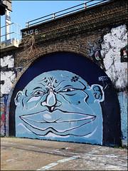 Kazz (Alex Ellison) Tags: kazz southlondon urban graffiti graff boobs halloffame hof
