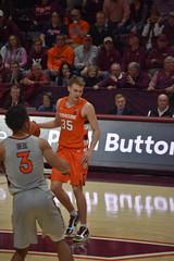 BUDDY BOEHEIM (SneakinDeacon) Tags: syracuse orange accbasketball collegehoops vatech vt hokies cassellcoliseum