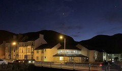 Photo of Venus over Slieve Donard