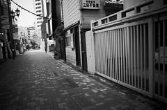 (ademilo) Tags: street streetphotography streetlight city cityscape citylife tokyo town townscape monochrome monotone blackandwhite building