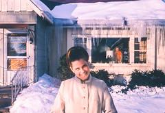 Found Kodachrome Slide (Thomas Hawk) Tags: america kodachrome usa unitedstates unitedstatesofamerica foundphoto foundslide icicle snow fav10 fav25 fav50
