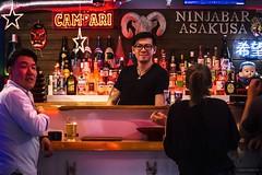 Ninja Bar (Laura Rubio PH) Tags: japan asakusa tokyo japanbar ninjabar asakusabar dailylife japandailylife bar japanpeople tokyopeople tokyodailylife people