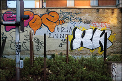 Sooz / XK (Alex Ellison) Tags: sooze xk southlondon urban graffiti graff boobs