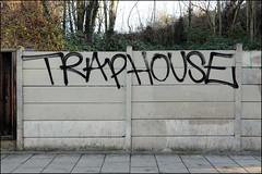 Traphouse (Alex Ellison) Tags: trap traphouse southlondon urban graffiti graff boobs