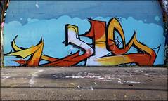 Cave (Alex Ellison) Tags: cave exitcrew farsi southlondon urban graffiti graff boobs halloffame hof