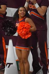 VA. TECH CHEERLEADERS (SneakinDeacon) Tags: cheerleaders vatech vt hokies cassellcoliseum