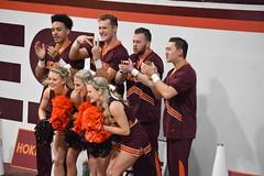 HOKIE CHEERLEADERS (SneakinDeacon) Tags: cheerleaders vatech vt hokies cassellcoliseum