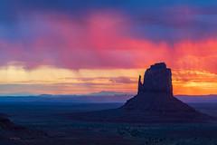 Monument Valley, Fire Mist... (rickdunlap2) Tags: monumentvalley arizona landscape hdr color