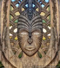 Russelll face carving outside museum (Julie V. Simpson Photographer) Tags: russell russellnewzealand bayofislands beautifulplace amazingview instadaily instagram instanature picoftheday photographer naturelovers fantastic amazing beautifulworld beautifulview bestoftheday newzealand