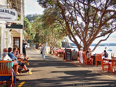 Russell-dinner along the strand (Julie V. Simpson Photographer) Tags: russell russellnewzealand bayofislands beautifulplace amazingview instadaily instagram instanature picoftheday photographer naturelovers fantastic amazing beautifulworld beautifulview bestoftheday newzealand