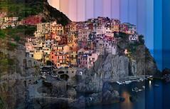 Chromatic Symphony Manarola (Lee Sie) Tags: italy italian liguria ligurian coast seaside hilltop coastal sunset evening timelapse harbor manarola
