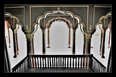 Arches and Pillars, Architectural wonders (Ramalakshmi Rajan) Tags: nikon nikond750 architecture india lifeinindia travel bangalore tippusultanssummerpalace