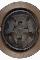 Australian Military Helmet - Mark ll - Internal View (AWM) (Gawler History) Tags: hulland precisionmetals army military history gawler buttons helmets factory southaustralia