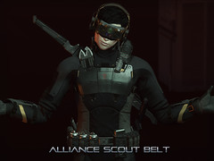 Alliance Scout Belt (Process Of Elimination) Tags: belt scout military scifi modular mercenary assassin recon soldier