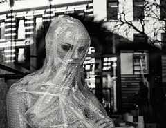 Abandonded (weerwolfje) Tags: urban utrecht bw bnw blackandwhite street mannequin