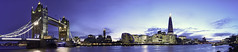 Panorama of South Bank (EricMakPhotography) Tags: panorama southbank riverthames london cityscape dusk