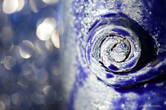handmade mug / detail (photos4dreams) Tags: art kunst handmade ooak photos4dreams p4d photos4dreamz susierocks craft diy macromondays macrolens makro ceramic keramik ton clay