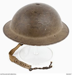 Australian Military Helmet - Mark ll (AWM) (Gawler History) Tags: hulland precisionmetals army military history gawler buttons helmets factory southaustralia