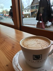 Around Seattle - Wallingford - a cup of coffee at Grand Central Bakery (Seattle Department of Transportation) Tags: blur sidewalk pedestrians victrola coffee bakery central grand wallingford transportation sdot seattle