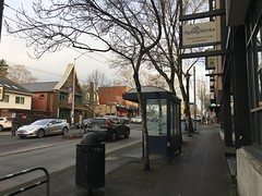 Around Seattle - Wallingford - bus stop on 45th (Seattle Department of Transportation) Tags: neighborhood sidewalk transit stop bus wallingford transportation sdot seattle