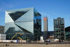 Berlin - Cube (volkgreu) Tags: europe europa germany berlin cube building gebäude architecture architektur fassade europacity reise travel