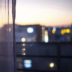 那覇、黄昏。 (Nobusuma) Tags: japan digital square nikon dof sundown bokeh depthoffield okinawa naha nikkor50mmf18g nikond610 curtains ニコン ボケ 黄昏 スカイライン 日本 沖縄 那覇