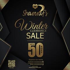 Limited TIme Sale 50% (Shamrafs) Tags: shamrafs winter clearance sale shamrafsnewarrivals staytuned fashionstatements formalwear orderonline trending glamour passionforfashion fashiondesigner fashionforwomen desingerwear latest instafashion fashion designer pakistani embroidery karachi