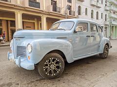 Classic Car 01 (jolynne_martinez) Tags: classiccar classiccars car blue automobile auto cuba cuban taxi googlepixel photoshop cubanisms