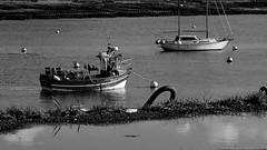 Reflection - Saint Pabu (patrick_milan) Tags: boat fishing ship mark letters sea water reflection finistere bretagne