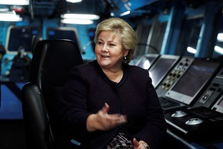 Omvising på NATO-skip