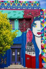 Colour (modernistdesign) Tags: australia travel canon colours mural southaustralia