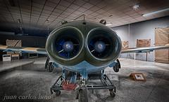 SUPER SAETA HA-220 (juan carlos luna monfort) Tags: avion plane airplane cahs centred´aviaciohistoricalasenia historia historico hdr lasenia tarragona montsia nikond810 irix15 calma paz tranquilidad