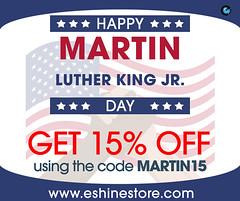 Enjoy the best on Martin luther king jr. day at eshinestore (EShinestore) Tags: martinlutherkingjr under cabinet lighting undercabinetledlighting pucklights ledpucklights