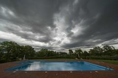 Cloud Pool (Wormsmeat) Tags: pool clouds sky doom weather dark italy tuscany holiday vacation sonya7r3 fe1224mmf4g empty