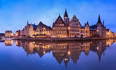 Gent (lavignassey) Tags: belgique gand gent panorama ghent belgium graslei