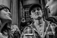 Broad Street, 2020 (Alan Barr) Tags: philadelphia 2020 mummersparade newyear broadstreet street sp streetphotography streetphoto blackandwhite bw blackwhite mono monochrome candid city people panasonic gx9