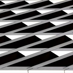 Abstract Architecture (2n2907) Tags: graphic geometric geometry pattern lines graphical design bw contrast black gray white square triangles blackwhite monochrome minimal minimalistic minimalism