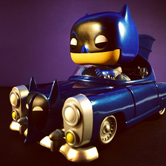1950s Batmobile (WEBmikey) Tags: batman funkopop